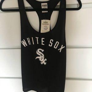 Victoria Secret PINK White Sox Tank